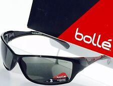 NEW* Bolle SPEED in BLACK w Grey Polarized  Sunglass 11630c $189.98 $AVE