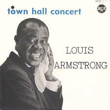 LOUIS ARMSTRONG Town Hall Concert FR Press RÇA 430 258 LP