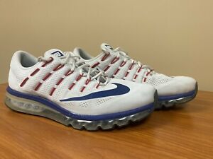 Nike Men Shoe Air Max 2016 Size 14 Sneaker Athletic Running 806771 Custom White