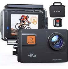 Apeman A87 Action Camera Touch Screen 4K 60Fps 20Mp Wi-Fi Sports