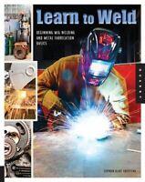Learn To Weld Using Miller Millermatic 211 Metal Fab Auto  Mig Welding Hardbound