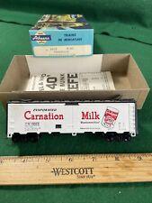 HO Athearn Box car 40' Reefer Carnation (KJT429)