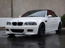 "19"" Miro 111 Wheels For BMW E46 M3 19x8.5 / 19x9.5 Black Staggered Rims Set (4)"