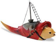HIERONYMUS BOSCH Fish Mast Medival Fantasy Sculpture Gothic Art Figurine Statue