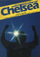 1982/83 Chelsea v Crystal Palace, Division 2, PERFECT CONDITION