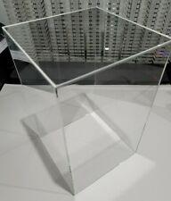 135 X 85 X 85 Clear Acrylic Display Box W Base Showcase Store Hot Toys 16