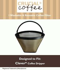 Washable & Reusable Cone Coffee Filter Fits Clever Coffee Drippers NEW