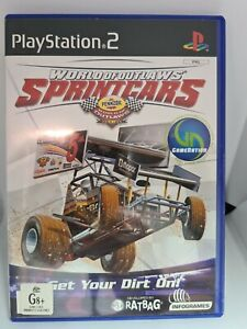 World Of Outlaws Sprintcars Ps2