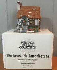 Dept 56 Dickens Village Lighted Building - Lomas Ltd Molasses -