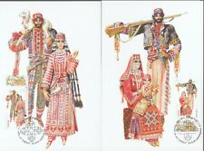 ARMENIA NATIONAL COSTUMES 1999 2 MAXIMUM CARDS MAXICARD R2021265