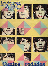 "THE ROLLING STONES ""CANTOS RODADOS"" ABC SPANISH MAGAZINE 1982 / SPECIAL REPORT"