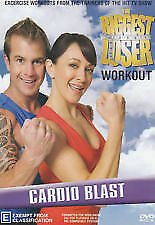 THE BGGEST LOSER WORKOUT- CARDIO BLAST- DVD, R-4, LIKE NEW, FREE POST AUS-WIDE