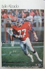 Lyle Alzado 23x35 NFL SI Poster 1978 Denver Broncos
