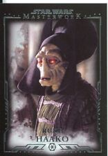 Star Wars Masterwork Premium Base Card #65 Rune Haako