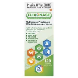 Flixonase Allergy and Hayfever 24 Hour Nasal Spray 120 Doses