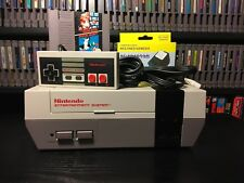 Nintendo NES Console with Refurbished 72-Pin, Hookups, and Super Mario Bros!