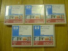HP C7973A 800GB Ultrium LTO3 RW data-cartridge - BOX of FIVE
