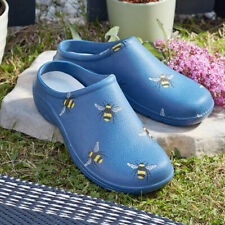 More details for briers women's garden clogs footwear comfi bee ladies shoe slip on
