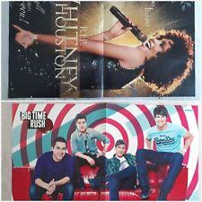 Big Time Rush Whitney Houston Poster Sammlung BTR