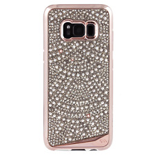 Case-Mate Brilliance Tough Case Rose Gold Lace Crystals for Samsung Galaxy S8