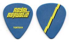 Royal Republic Hannes Irengård Blue Guitar Pick - 2020 Tour