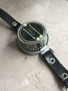 vintage wrist diving compass Navy USSR
