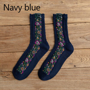 Women Soft Winter Velvet Cotton Warm Socks Thick Thermal Wool Floor Socks