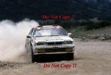 Jimmy McRae Mitsubishi Galant VR-4 Acropolis Rally 1989 Photograph 1