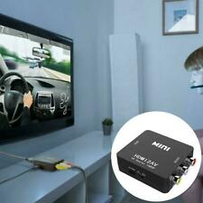 Mini HDMI To AV Adapter Converter Cable CVBS 3RCA 1080P Audio Composite X8A7