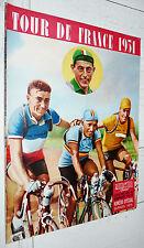 MIROIR SPRINT 1951 CYCLISME PRESENTATION DU TOUR FRANCE PHOTOS COUREURS