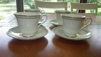 Footed Cup & Saucer Sets in Portland by MINTON Fine Bone China set of 4 footed c