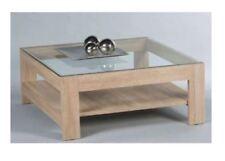 Couchtisch Wohnzimmertisch Attac Beistelltisch mit Glasplatte UVP 249€ 1u566