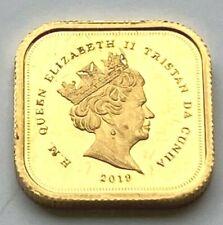 More details for 2019 elizabeth  square quarter sovereign   @16 limited edition gold coin