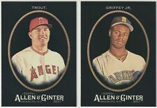 2017 Topps Allen & Ginter X BASE ROOKIES & VETS 1-150 - PICK FROM LOT