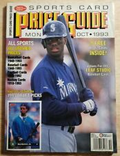 SCD Sports Card Price Guide Monthly October 1993 Ken Griffey Jr Robinson w Cards