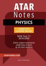 Preliminary Physics Notes 2018 - 2020
