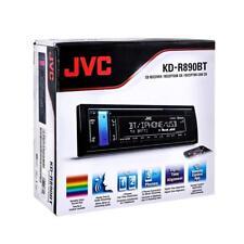 JVC KD-R890BT 1-DIN Car Stereo In-Dash CD MP3 USB AM/FM Receiver w/ Bluetooth