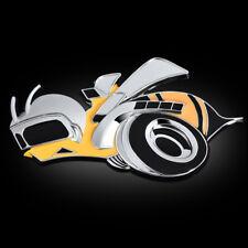 3D Alloy Super Bee Car Grill Badge Emblems For Dodge Challenger Charger Hemi SRT