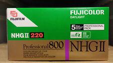 Fuji Fujifilm NHG ll 800 220 film Medium format