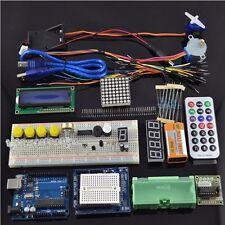 NEU Ultimative UNO R3 Starter Kit für Arduino 1602 LCD Servomotor Relais RTC