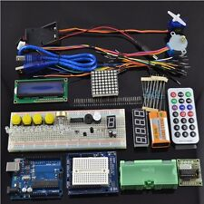 Ultimative UNO R3 Starter Kit für Arduino 1602 LCD-Servomotor Relais RTC LED