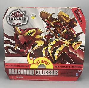 Bakugan Gundalian Invaders Dragonoid Colossus 2010 Spin Master NIB