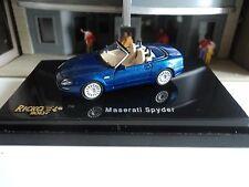 RICKO   MASERATI  SPYDER  BLUE  CONVERTIBLE    1/87  HO CAR PLASTIC