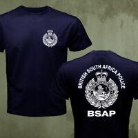 Zimbabwe Rhodesian Army BSAP British South Africa Police T-shirt