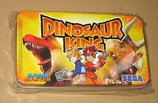 Dinosaur King Game Master SEGA very rare promo Metal Box