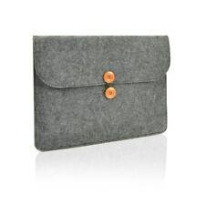 "UNIK CASE-Felt Laptop Sleeve Bag Case Cover for All 13"" Laptop-Dark Grey"