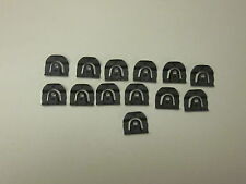 1965-66 impala and full size gm front  windshield molding clip set