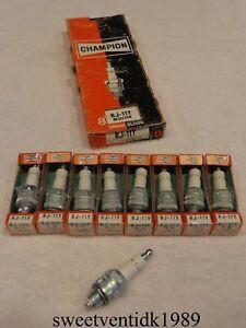 'NOS' Champion RJ-11Y Spark Plugs...Charger, Road Runner, Cuda, Challenger, GTX