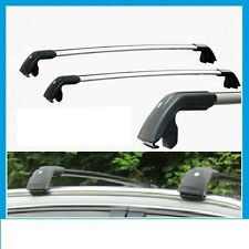 2x New roof racks / cross bar for Volvo xc60 2008- 2017 connect to flush rails