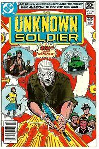 Unknown Soldier #250 (1981) VF  Joe Kubert - Dick Ayers - Bob Haney